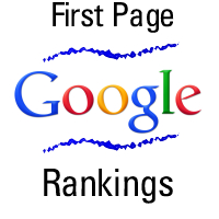 First Page Google Rankings - Web Designer Manchester