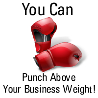 Punch Above Your Business Weight - Web Design Manchester
