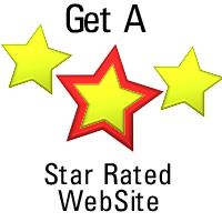 Get A Star Rated Web Site - Wheels4WebSites