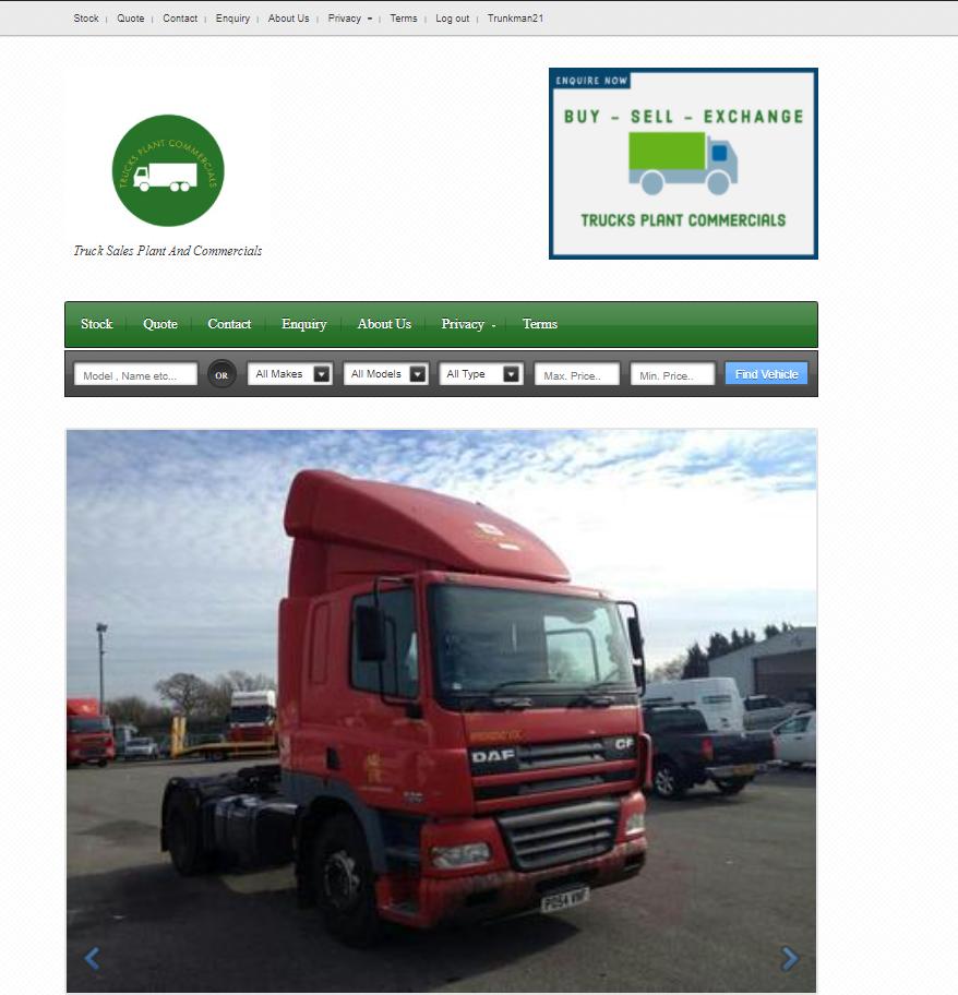 TrucksPlantCommercials For Sale